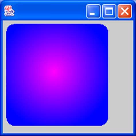 gradient paint 171 2d graphics gui 171 java