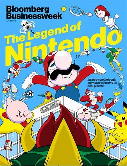 Nintendo Bloomberg Magazine Switch Japanese Businessweek Giant