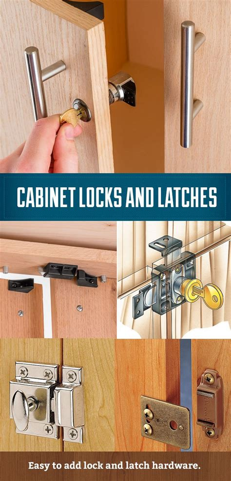 cabinet locks catches  latches easy  install
