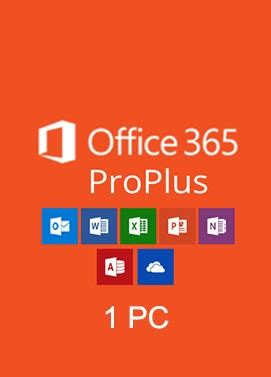 Office 365 Year by Buy Microsoft Office 365 Professional Plus Account For 1