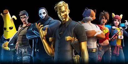 Fortnite Island Character Getting Skins Map Non