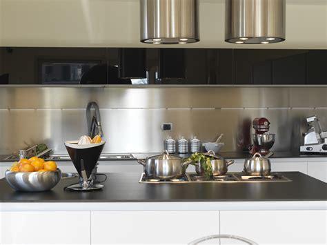tole inox pour cuisine revetement mural inox pour cuisine
