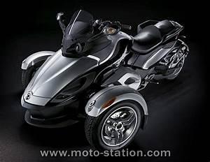 Bmw 3 Roues : trois roues bombardier pr sente le roadster spyder moto revue ~ Melissatoandfro.com Idées de Décoration
