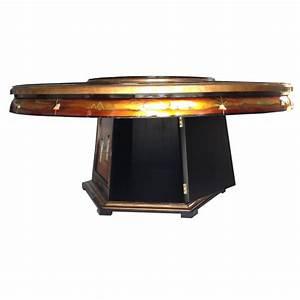 Plateau De Table : table de salle manger avec plateau tournant meubles ~ Teatrodelosmanantiales.com Idées de Décoration