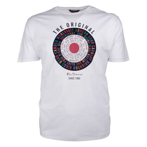 Ben Shirt ben sherman text tshirt big size tshirts plus size