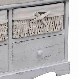 Banc De Rangement Bois : la boutique en ligne banc de rangement blanc en bois avec ~ Teatrodelosmanantiales.com Idées de Décoration