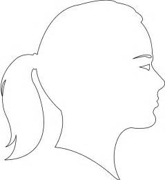 Female Face Silhouette | Free vector silhouettes