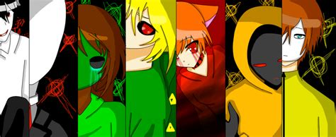 Creepypasta Anime Wallpaper - creepypasta wallpaper without nawni by nawnii on deviantart