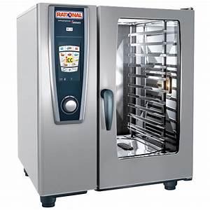 Rational Selfcookingcenter 5 Senses Model 101 A118106 12 Combi Oven With Ten Half Size Sheet Pan
