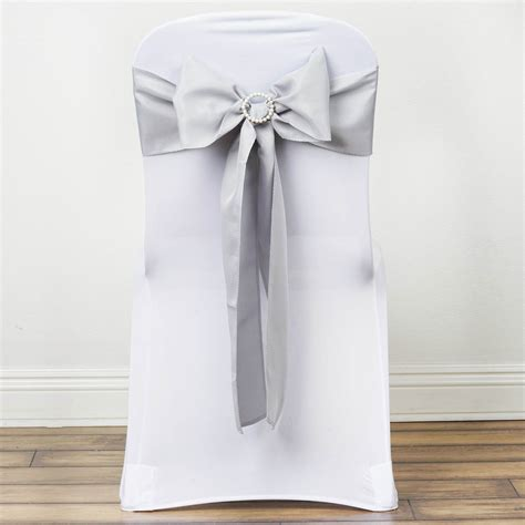 200 polyester chair sashes ties bows wedding