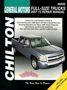 Shop Manual Service Repair Chilton Book Silverado Sierra