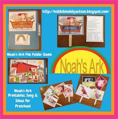 noah s ark file folder printables song and ideas 729 | 88bb9b4f925d4054d89a20d22d4e0208