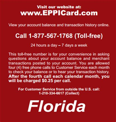 florida child support phone number child support eppicard florida eppicard