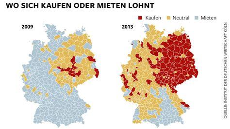 Haus Kaufen Hamburg Karte by Immobilien Wo Sich In Deutschland Der Wohnungskauf Lohnt