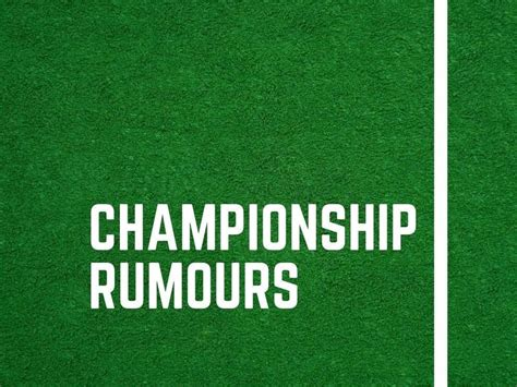 Championship deadline day rumours: Wigan Athletic in hunt ...