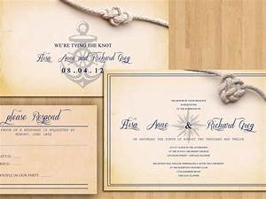 printable wedding invitations printable wedding With nautical chart wedding invitations