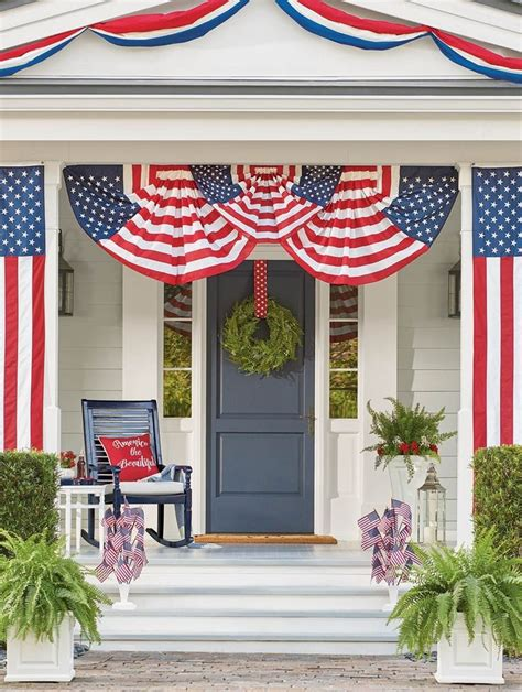 25 Best Ideas About Patriotic Bunting On Pinterest Red