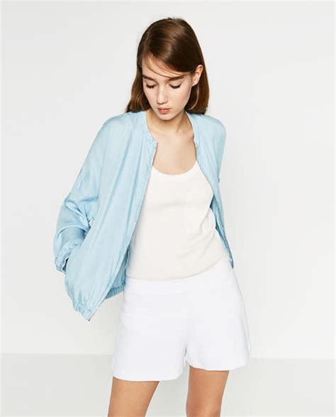 FLOWING BOMBER JACKET - OUTERWEAR-TRF | ZARA United States