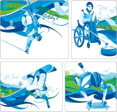 sports graphic design design vancouver 2010 graphic identity