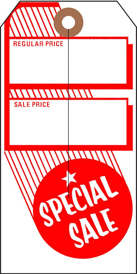 Sale Tags for Retail Stores - Universal Tag, Inc.