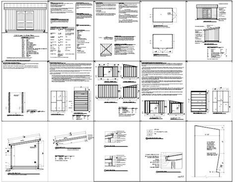 10x16 Shed Plans Pdf by Shed Plans 10 215 16 Garden Shed Plans Building Your Own