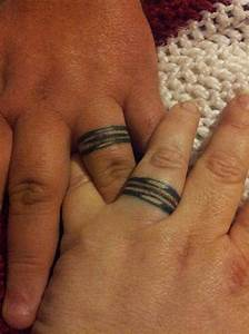 wedding ring tattoos designs ideas and meaning tattoos With wedding ring for couples