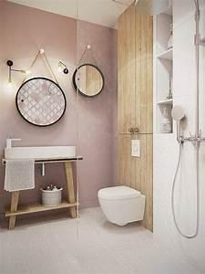 awesome lustre salle de bain rouge ideas amazing house With miroir baroque pour salle de bain
