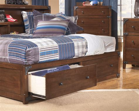 Delburne Full Bookcase Storage Bed From Ashley B362 85 51