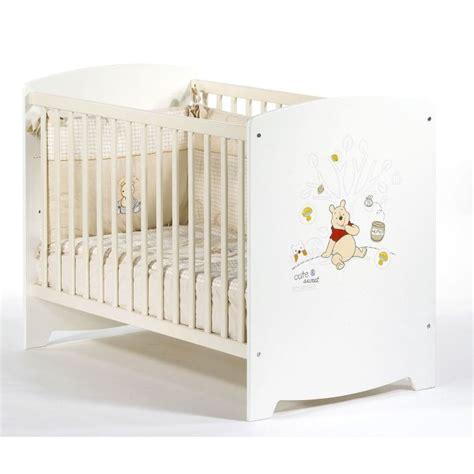 chambre de bébé aubert lit bebe winnie aubert