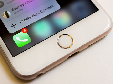 iphone 7 changes iphone 7 comes with change to home button neurogadget