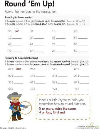 79 best math rounding images on fourth grade
