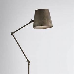 Stehlampe Grauer Schirm : gelenk stehlampe reporter von il fanale ~ Indierocktalk.com Haus und Dekorationen