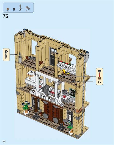 lego indoraptor rampage  lockwood estate instructions