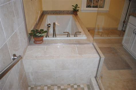 drop in tub surround white drop in tub tile floor tub surround and shower