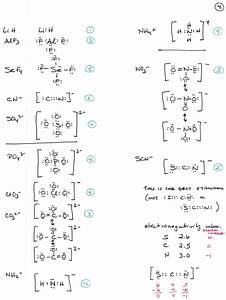 32 More Lewis Structures Worksheet Answers