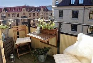 Kleinen Balkon Optimal Nutzen : klein aber fein so holst du das beste aus deinem kleinen balkon ~ Bigdaddyawards.com Haus und Dekorationen