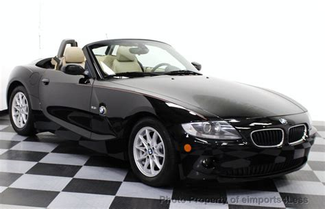 2005 Used Bmw Z4 2.5i Convertible Premium Package At