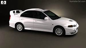 Mitsubishi Lancer Evolution 1997 By 3d Model Store Humster3d Com