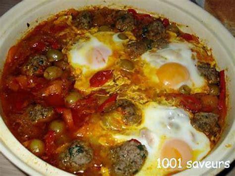 recettes de cuisine marocaine avec photos recette de tajine marocain de kefta et de légumes