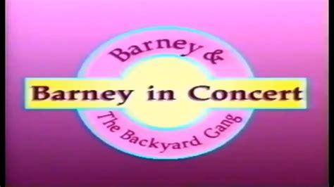 Barney In Concert Custom Theme