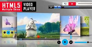 html5 video player with multiple skins by lambertgroup With html5 video player template