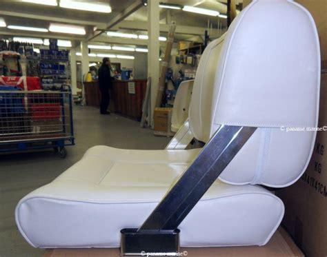 si鑒e assis debout inox siège anatomique biplace avec dossier rabattable 48 415 03 osculati paname marine