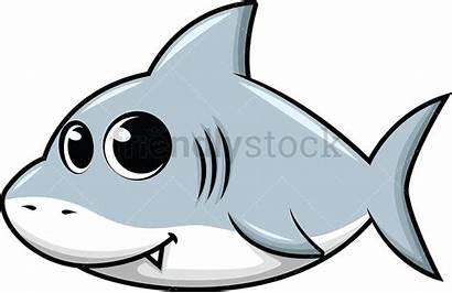 Shark Cartoon Clipart Vector Friendlystock Animals Illustration