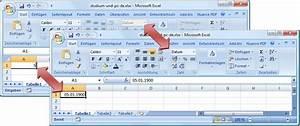 Excel Datum Berechnen Tage Addieren : in excel 2007 zahlen text betr ge und datum effektiv erfassen ~ Themetempest.com Abrechnung