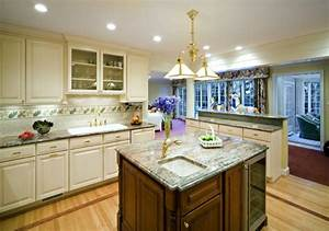 Windowless kitchen traditional dc metro by
