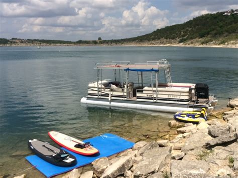 Canyon Lake Pontoon Rentals by Ifloats Sales Rentals Canyon Lake Texas