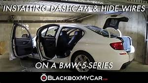 How To Install A Dashcam  U0026 Hide Wires On A Bmw 5