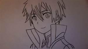 How To Draw Kirito From Sword Art Online  Kazuto Kirigaya