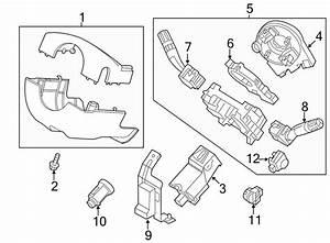 2014 Ford Explorer Steering Wheel Position Sensor  Park  Wauto  Power