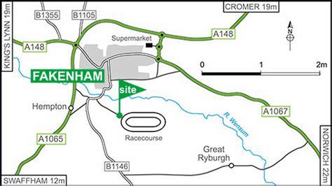 Fakenham Racecourse   The Caravan Club